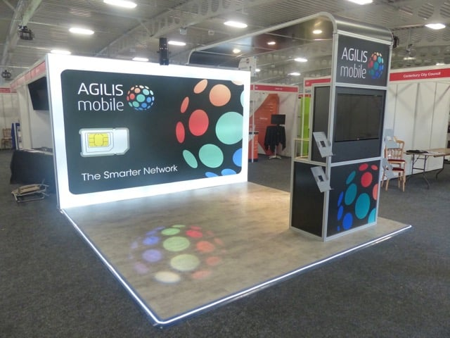 Agilis self-build-display-stand