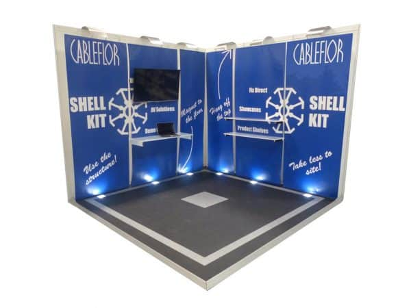 Exhibition Flooring and stand