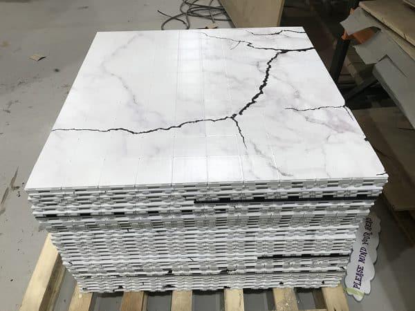 modular printed floor